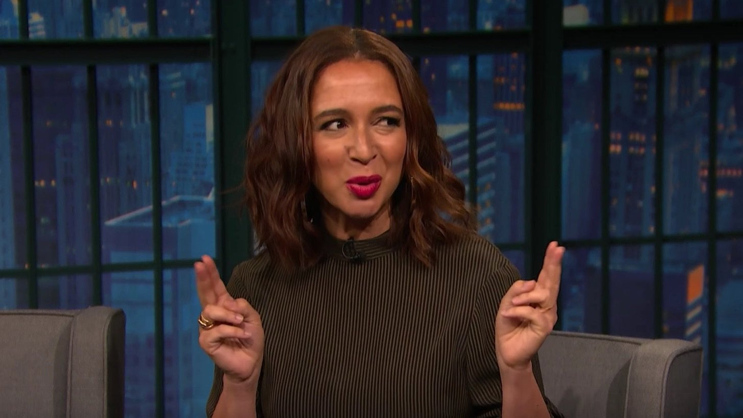 Watch Maya Rudolph On The Secret To Doing A Spot-on Ivanka Trump Impression