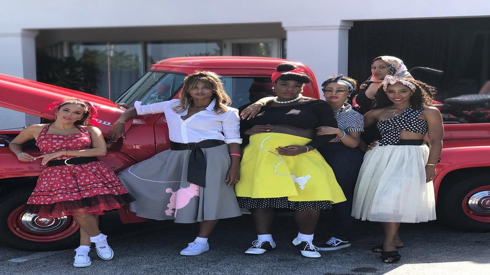 Serena Williams Had a Star-Studded '50s-Themed Baby Shower and it Was Amazing