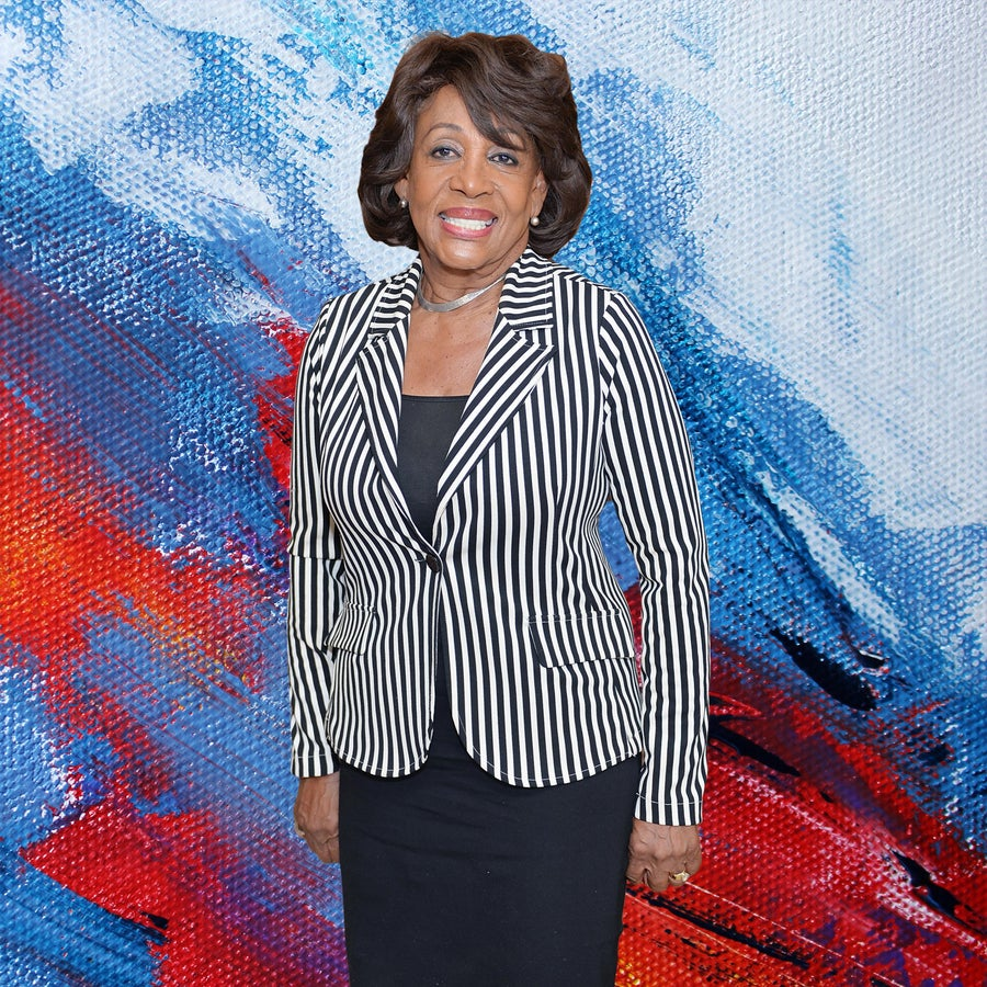 Rep. Maxine Waters Says Trump's Speeches Need A Parental Advisory Warning
