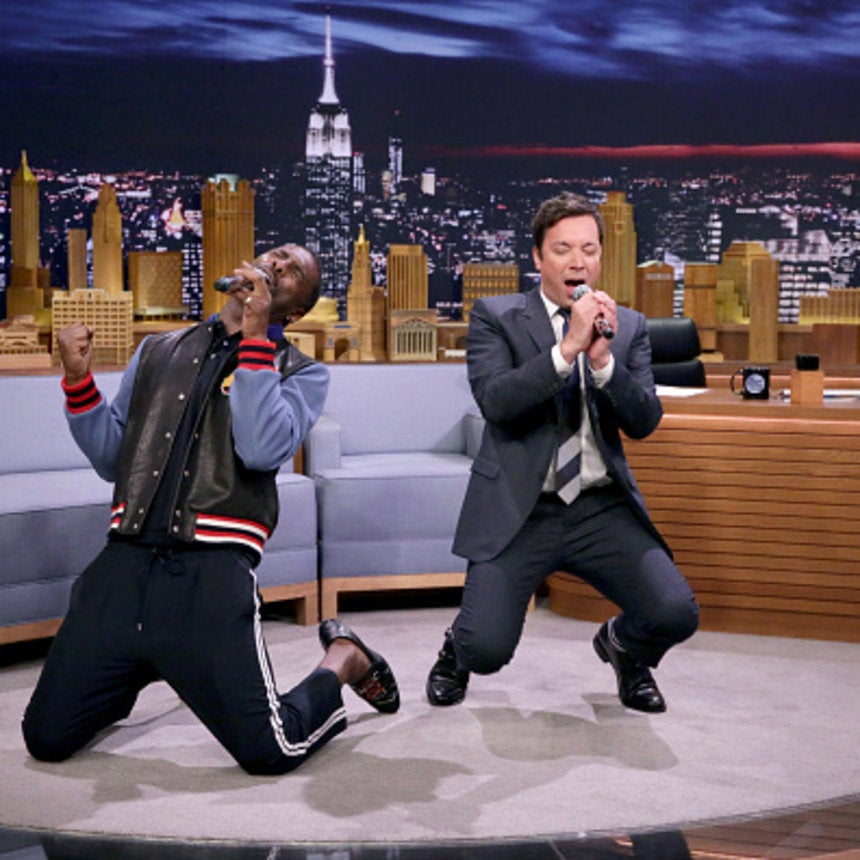 WATCH: Idris Elba And Jimmy Fallon Sing A Google Translate Duet Of 'I'll Make Love To You'