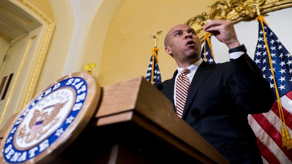 Sen. Cory Booker Wants To Legalize Marijuana Nationwide