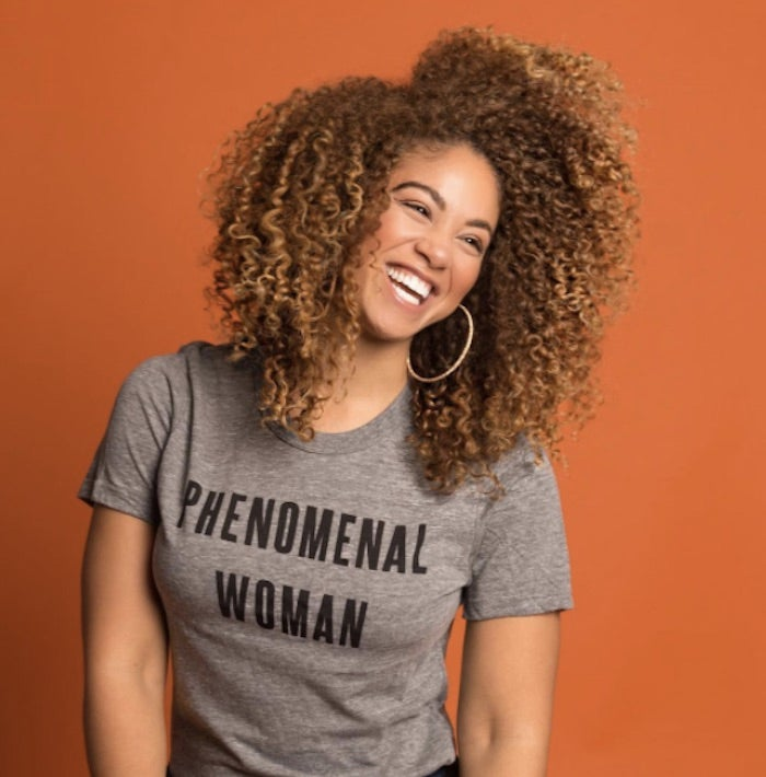 d4894d1f2618 Here's Where To Buy Those 'Phenomenal Woman' Shirts You've Been Seeing  Everywhere