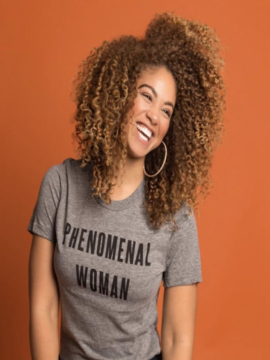 Here's Where To Buy Those 'Phenomenal Woman' Shirts You've Been Seeing Everywhere