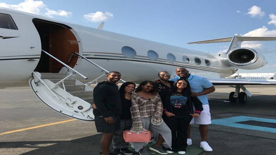 Magic And Cookie Johnson Show Us How A Family Vacation Is Done In Capri