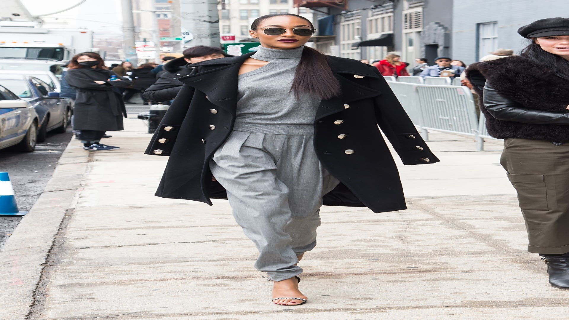 23 Times Jourdan Dunn Brought Her Supermodel Style to the Streets