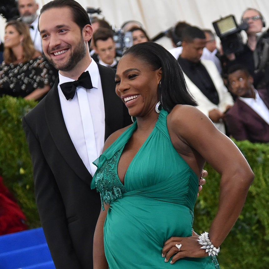Yes, Serena Williams' FiancéRealizes He's An Incredibly Lucky Man