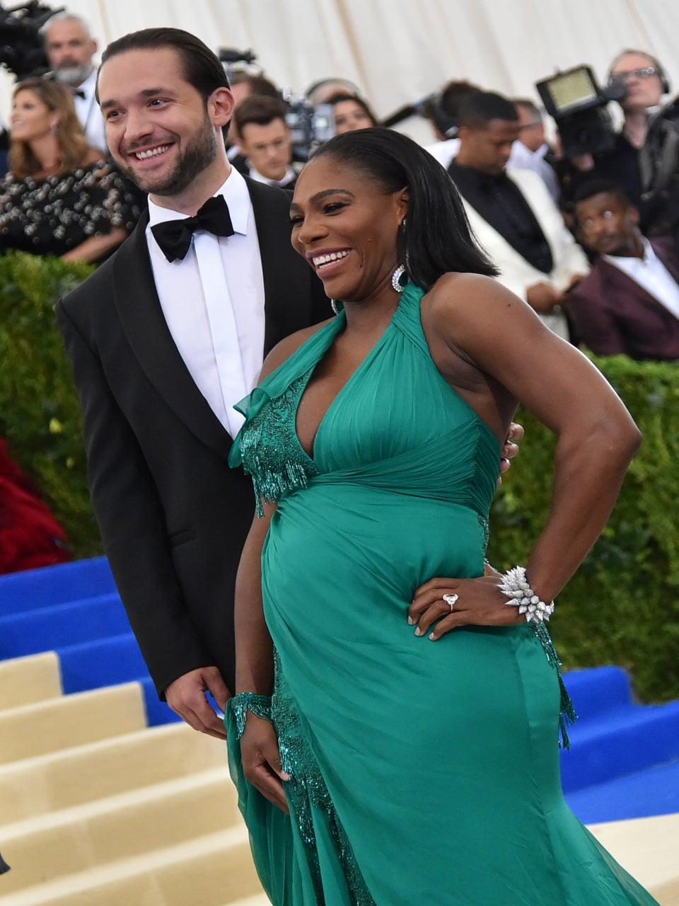 Serena Williams Is In Labor