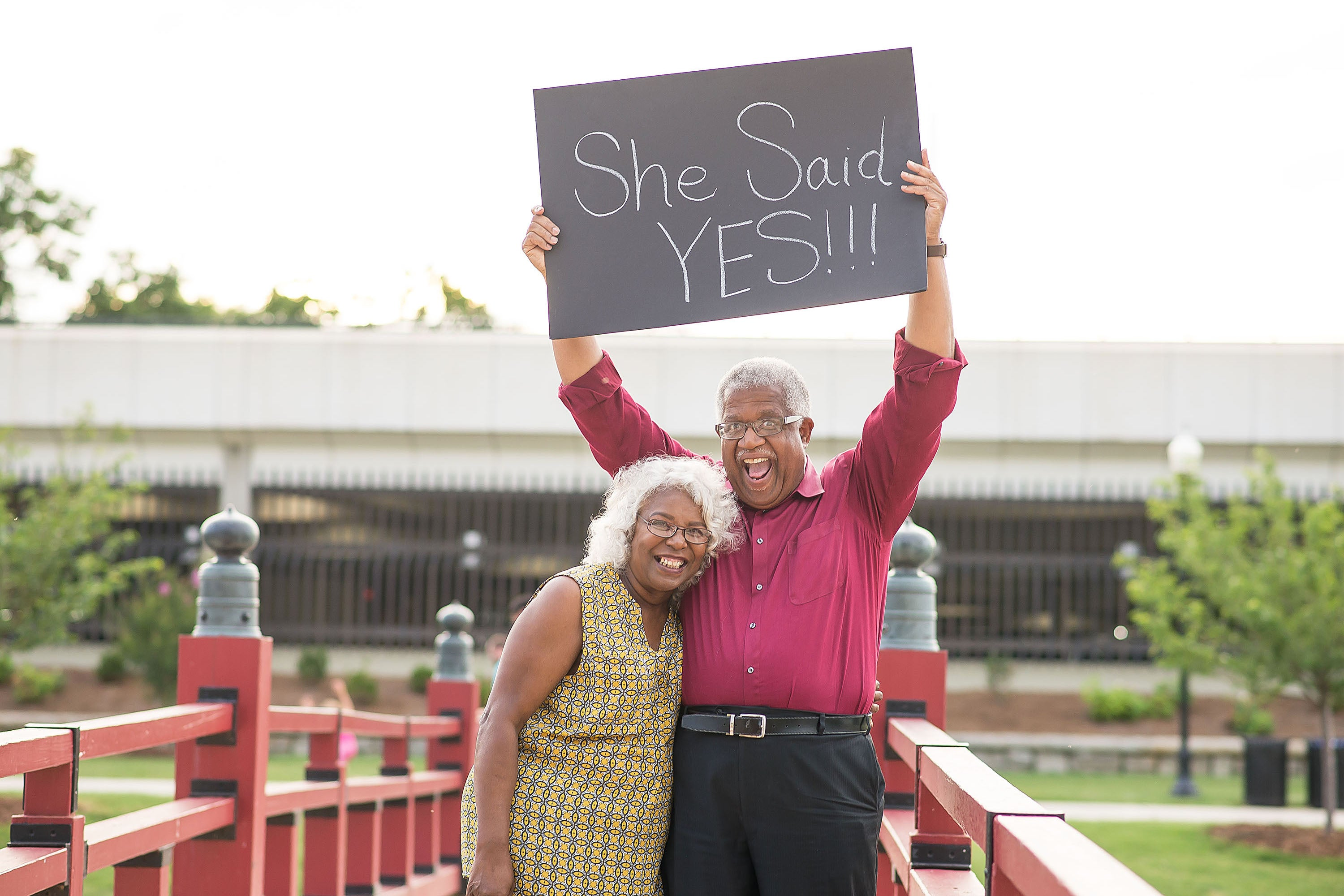 This Elderly Couples Wedding Announcement Went Viral for the Best Reason pictures