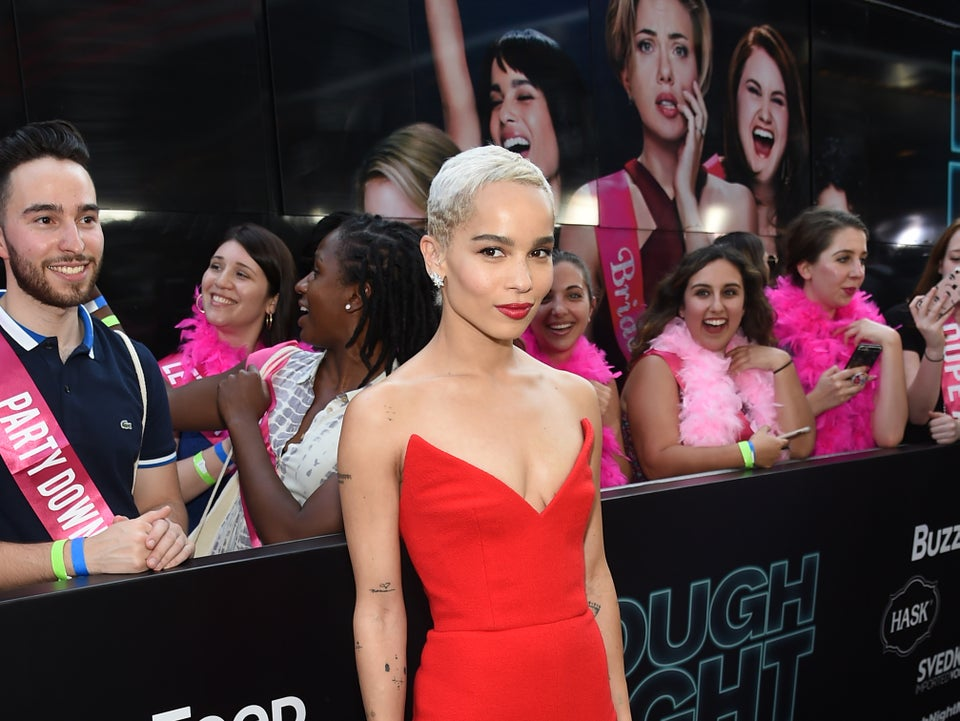 Zoe Kravitz Just Casually Unveiled A New Hairstyle