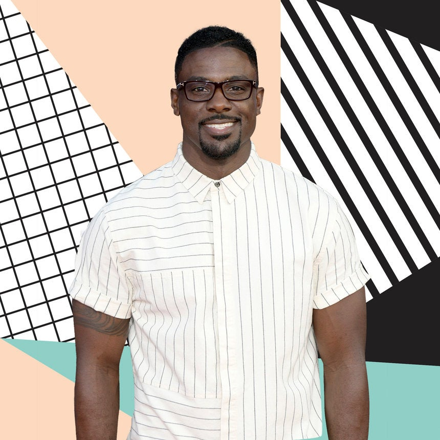 We Can't Get Enough Of The Way Lance Gross Look At His Newborn Son