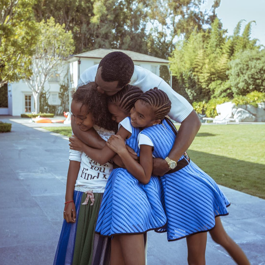 Diddy And His Darling Daughters Will Make Your Heart Smile