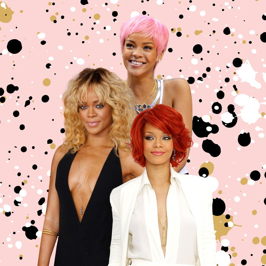 Proof That Rihanna Has Slayed in Any and Every Hair Color