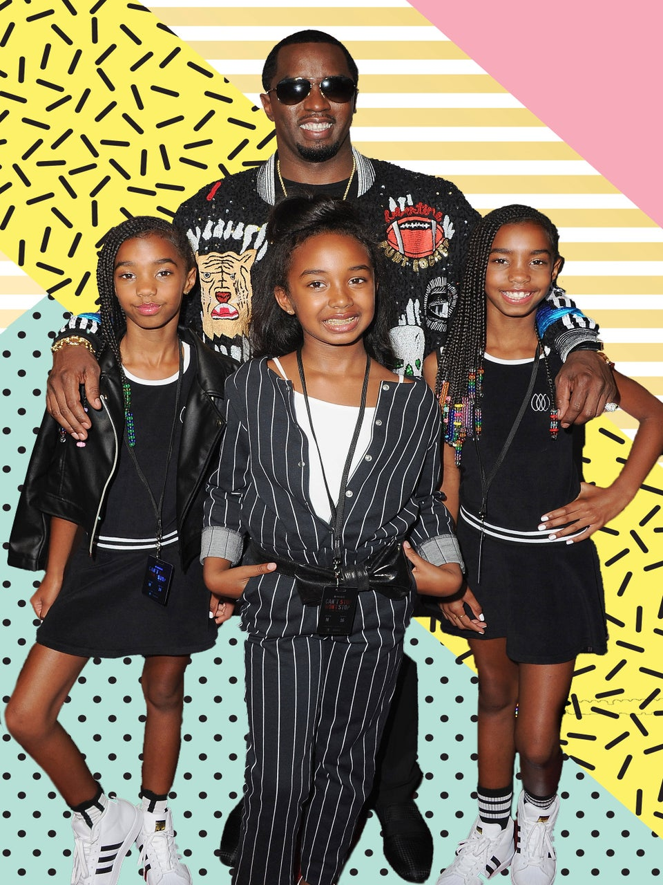 Diddy Is The Personal Hype Man To HisDaughtersIn This Adorable Video
