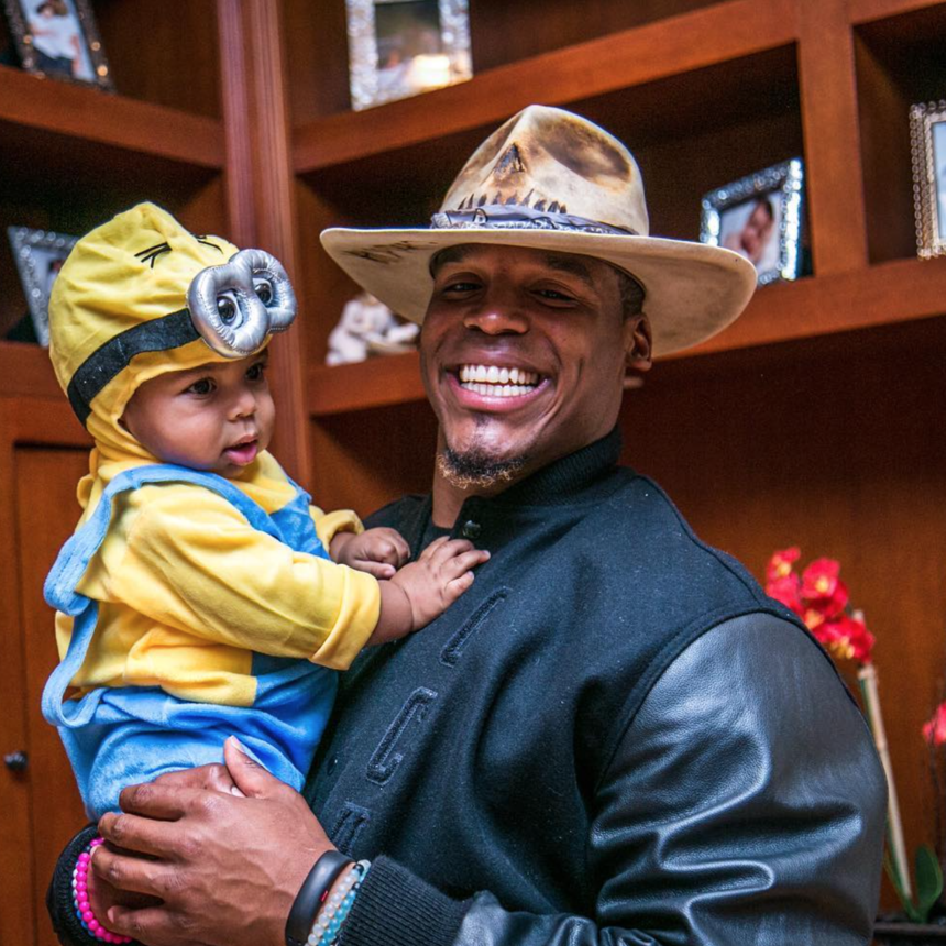 11 Times Cam Newton And His Son Chosen Were The Cutest Father-Son Duo