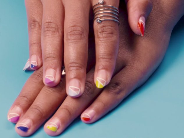 Prepare To Slay The First Day of Class In This Updated French Manicure