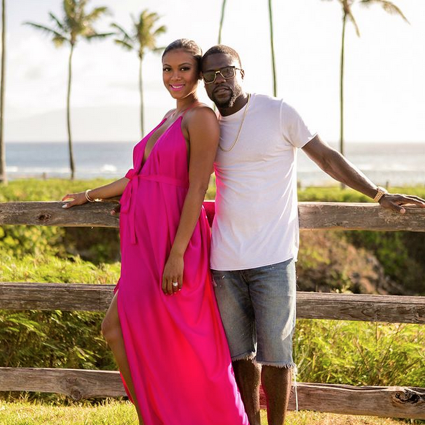 3 Times Kevin Hart And Eniko Hart Were The Cutest Parents-To-Be