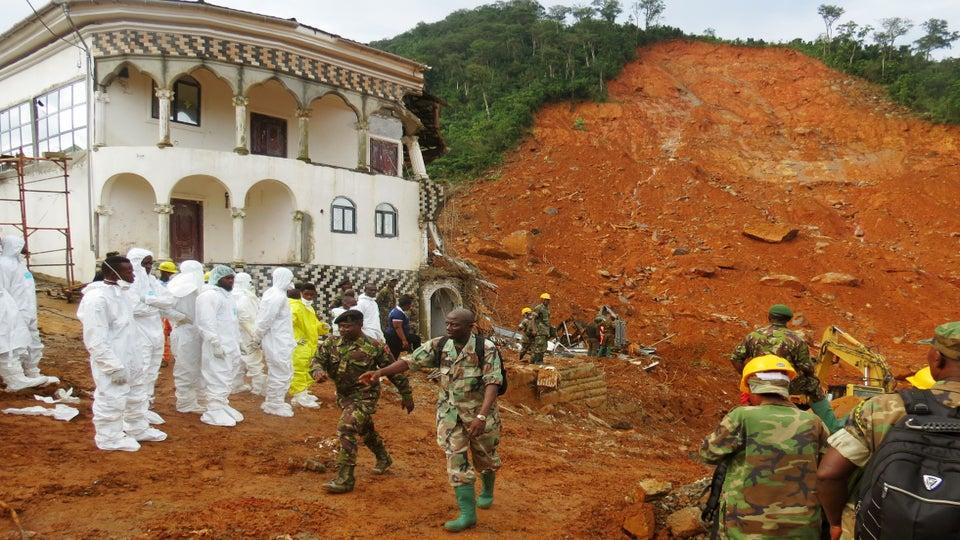 Death Toll Rises in Sierra Leone Mudslide