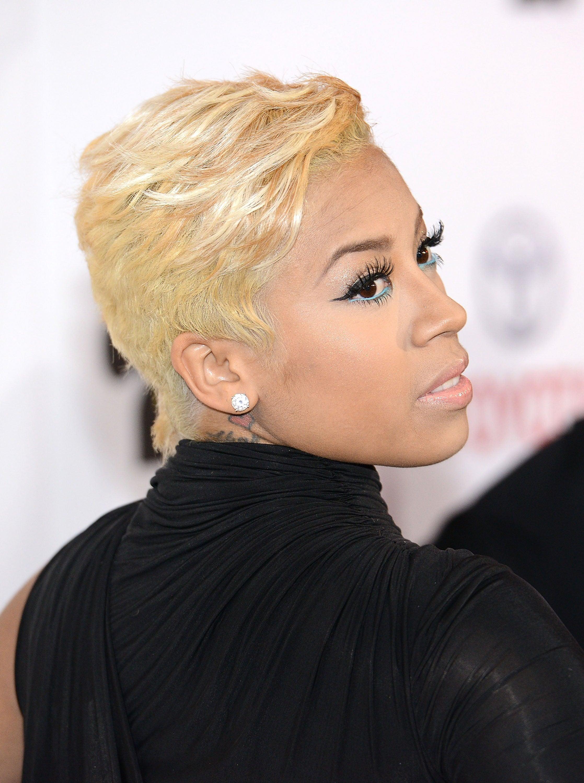 Black Celebs In Short Blonde Hair Essence
