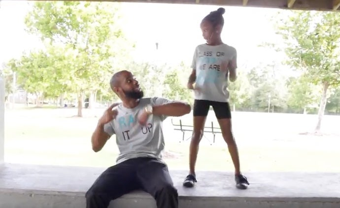 Father-Daughter Duo Remix Club Banger Into Back-To-School Anthem
