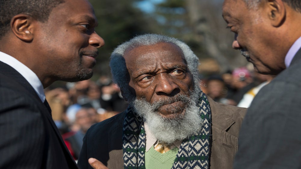 We Should All Take A Note From Dick Gregory's Unapologetic Activism