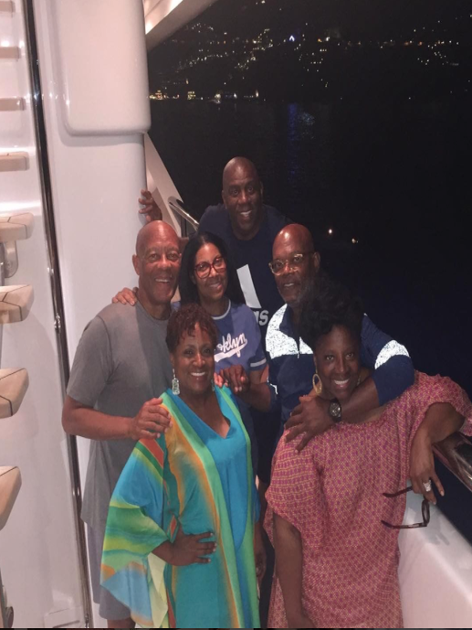 Magic Johnson, Samuel L. Jackson And Their Wives Celebrate The Good Life In Italy