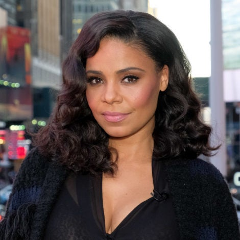 Sanaa Lathan Looks Like A Brand New Woman In Blonde Hair