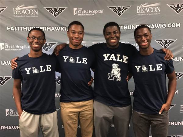 Black Excellence: These Quadruplet Brothers Are All Headed To Yale This Fall