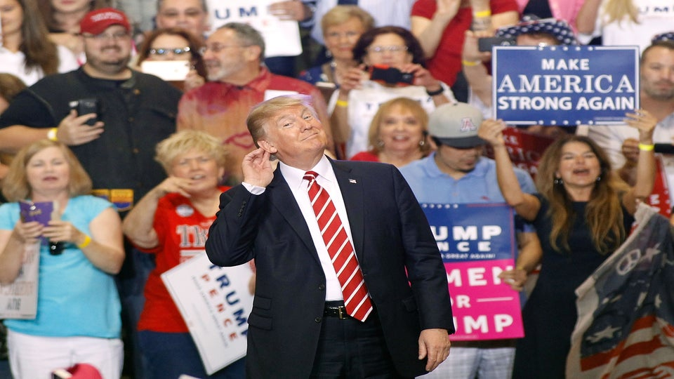 Who Didn't Trump Attack In That Outrageous, Delusional CampaignRally In Arizona?