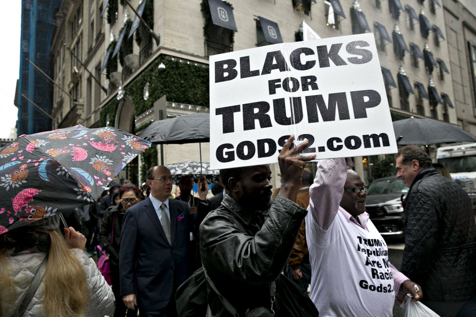 Trump's Black Supporters Are Just As Delusional As His White Ones