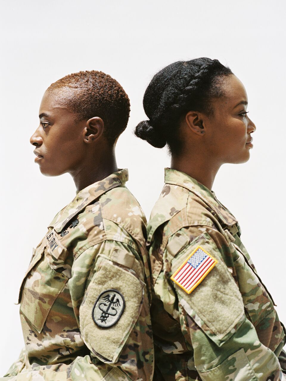 These Black Women In The Military Are Using Their Natural Hair to Make a Powerful Statement