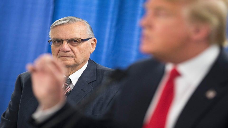 Trump Pardons Racist SheriffJoe Arpaio As Hurricane Barrels Towards Texas