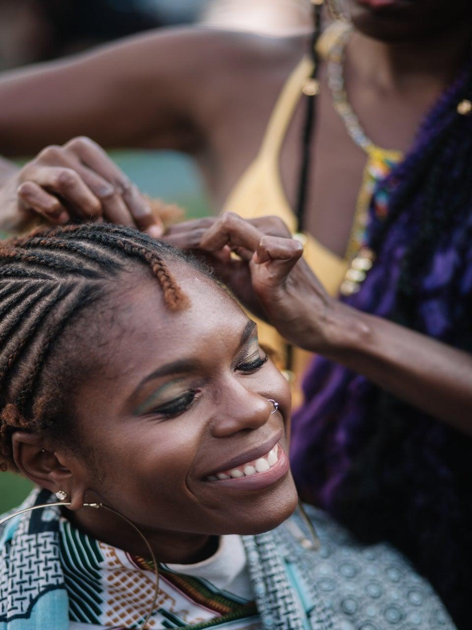 Michaela Angela Davis' 'Hair Tales' Celebrated The Beauty Of Braids At AFROPUNK