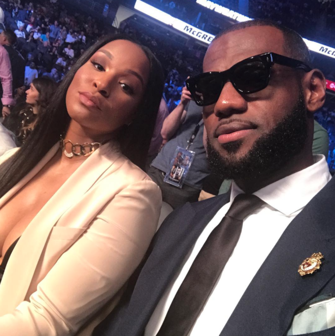 Aww! LeBron James Wishes His Wife Savannah The Happiest Birthday