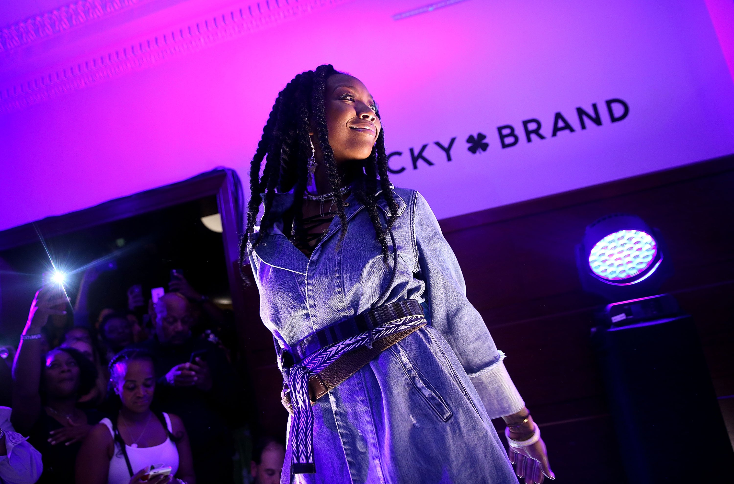 Brandy Reflects On Her Iconic Braids and Getting Over the 'Fake' Social Media Phase