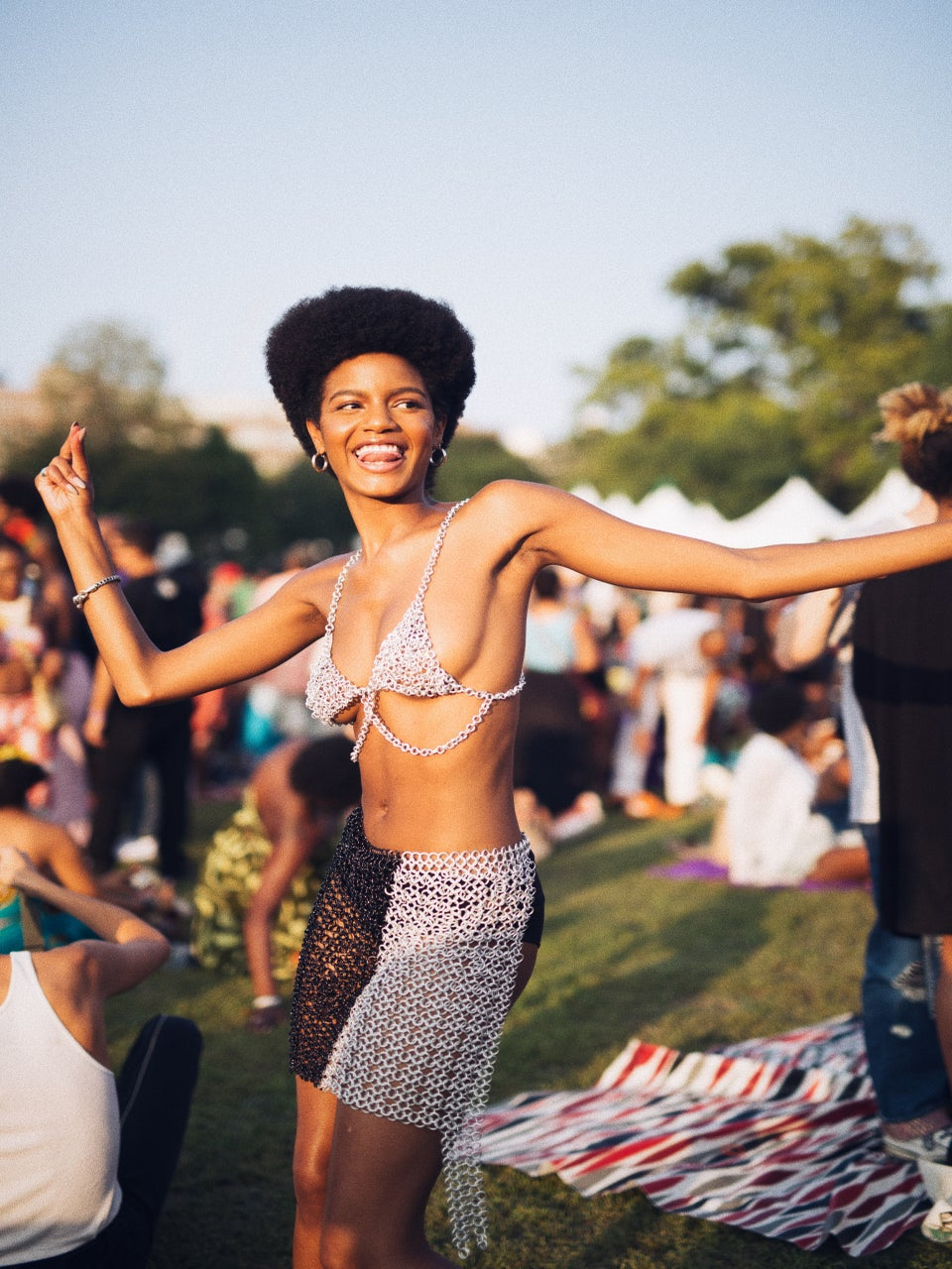 Model Ebonee Davis On AfroPunk, Identity And The Importance Of Creating Spaces To Celebrate Our Blackness