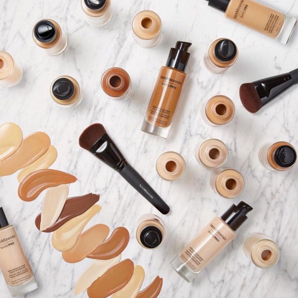Bare Minerals' New Mineral Foundation Has An Impressive Shade Range