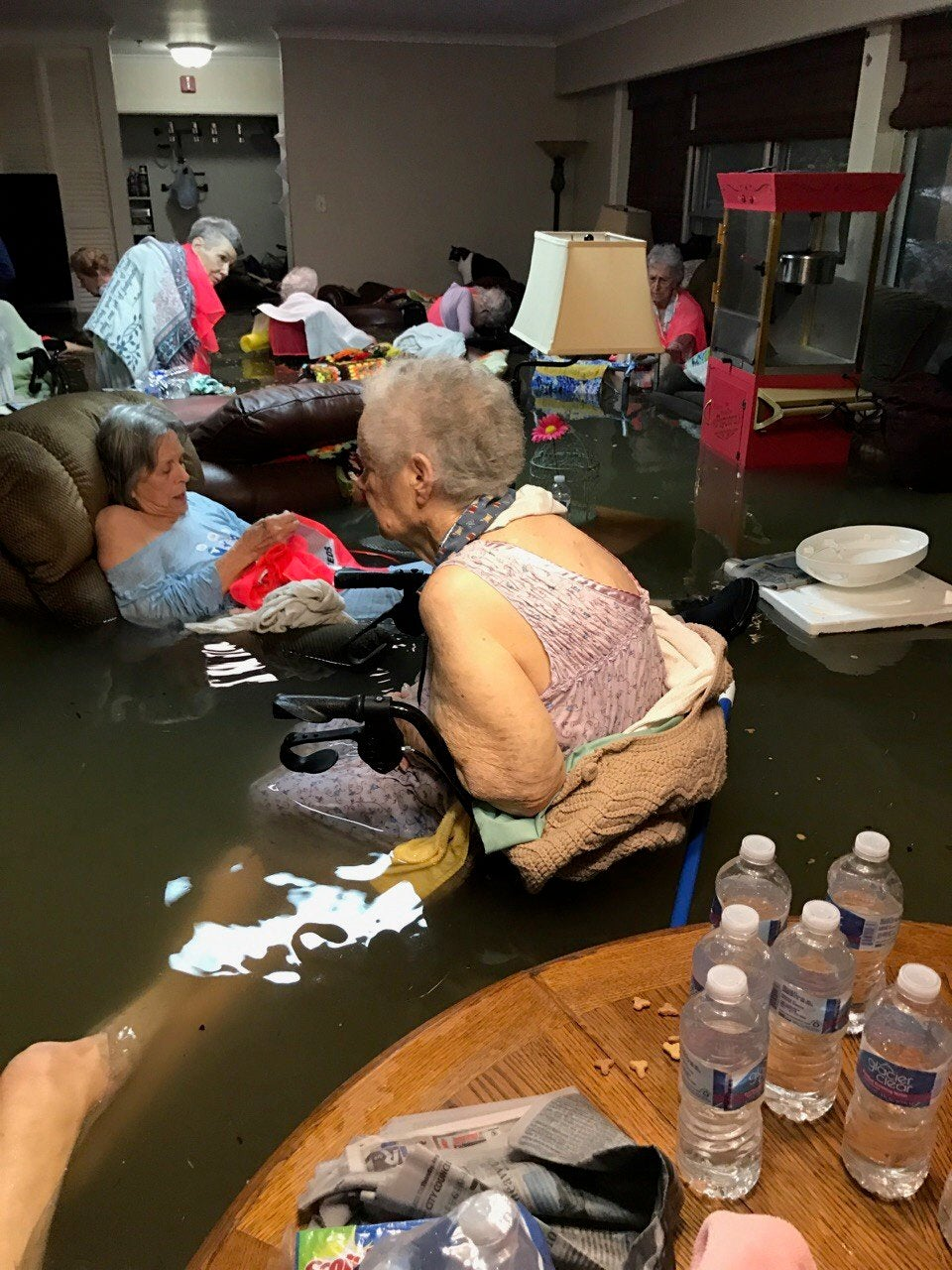 'Need Help ASAP.' The Story Behind The Photo Of Nursing Home Residents Trapped In Hurricane Flood Water