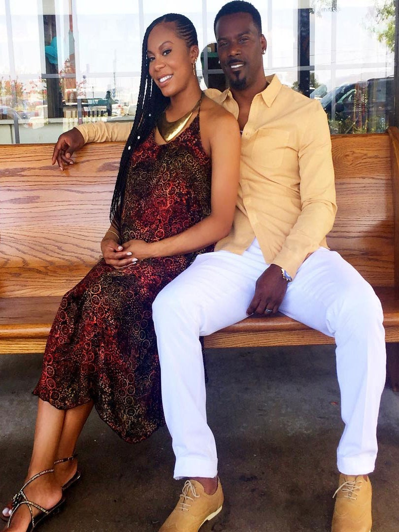 Sanya Richards-Ross Asks Yolande Kelly To Be Godmother To Her Son With The Cutest Video