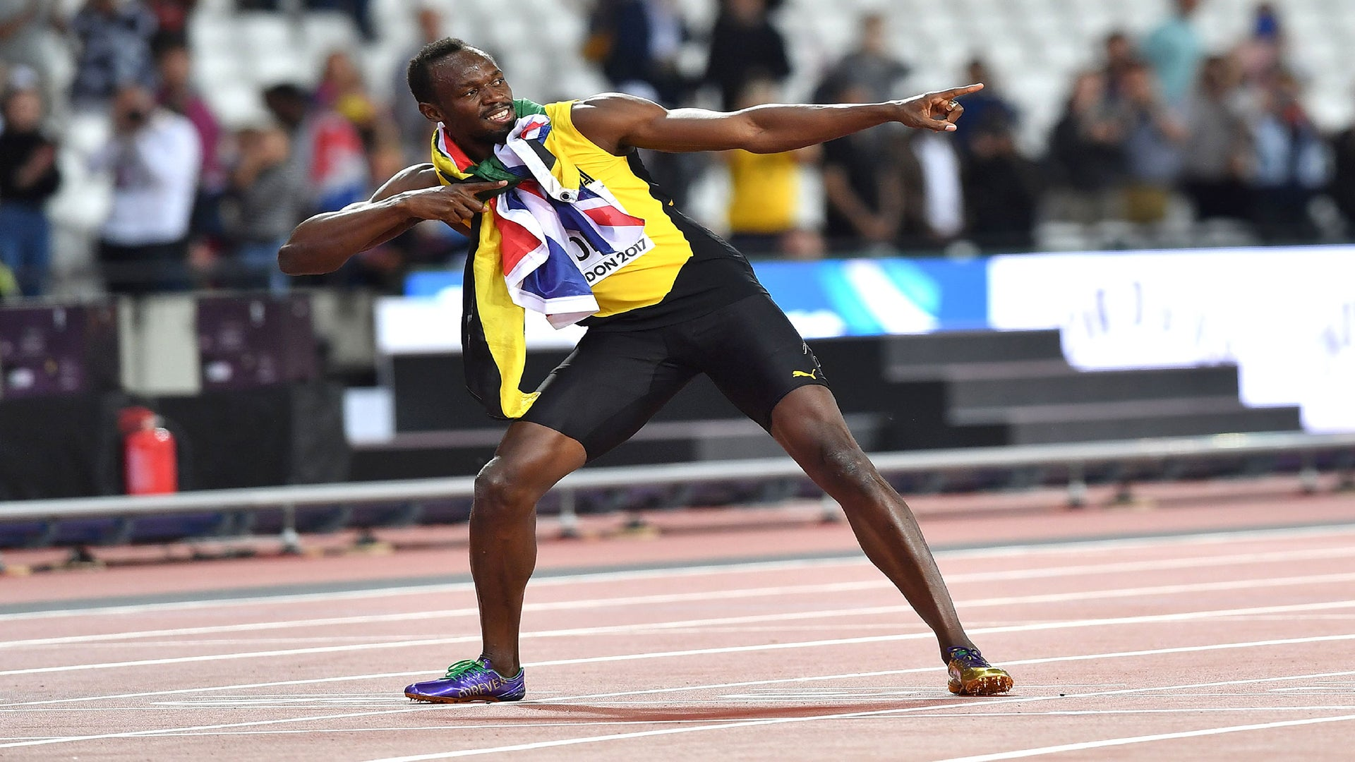 Usain Bolt Finishes Final Solo Race In Third Behind Two U.S. Sprinters