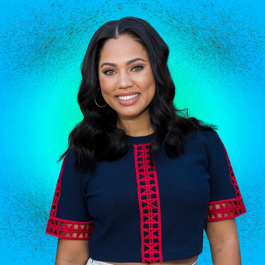 Ayesha Curry Keeps Her Daughter Riley's Curls Poppin' With This $6 Drugstore Product