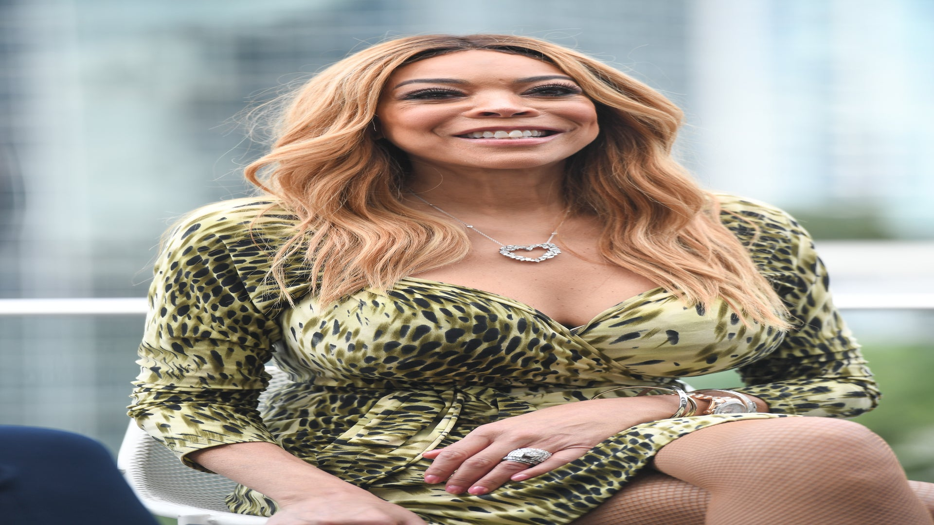 Wendy Williams Faints During A Live Taping Of Her Show