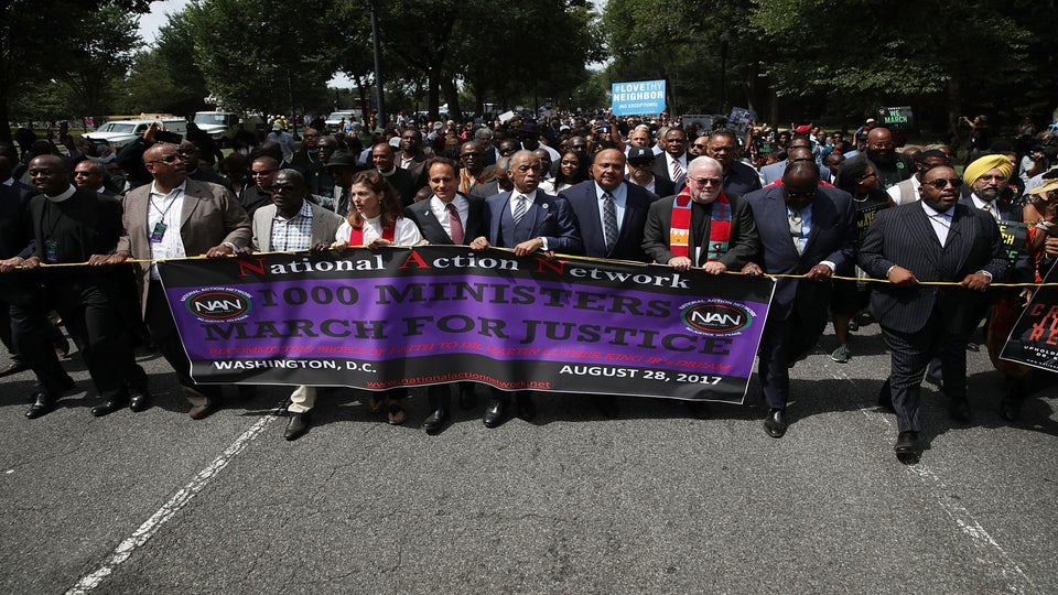 Ministers March Highlights Role Religious Leaders Play In Challenging Racism And Hate
