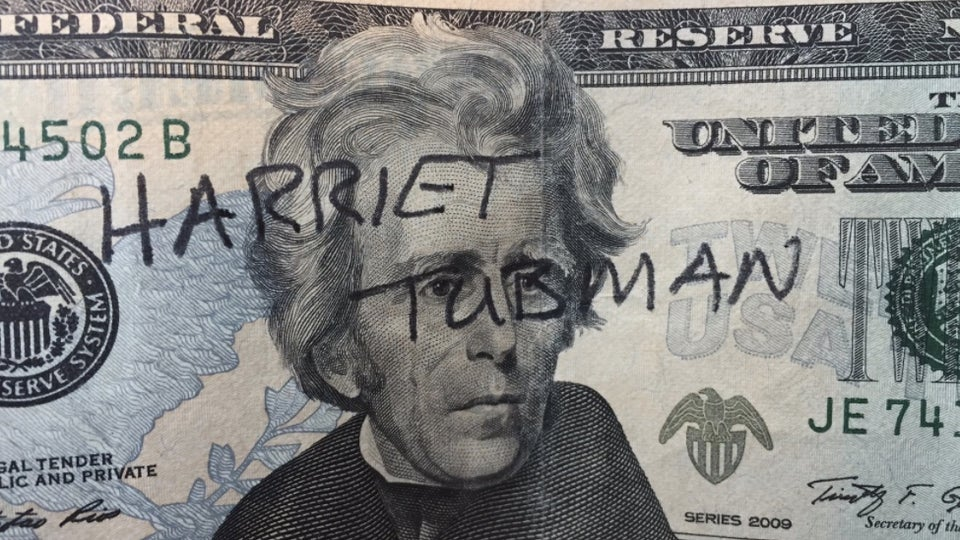 Why Are People Writing Harriet Tubman's Name On $20 Bills?