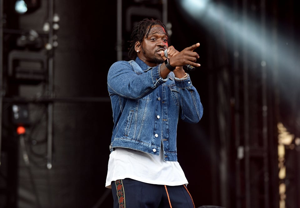 Pusha T Finishes Concert In Toronto After Drinks And Paint Tossed At Him