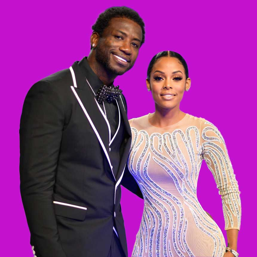 Gucci Mane And Fiancée Keyshia Ka'Oir Swap Opulent Gifts On the Eve Of Their Wedding Day