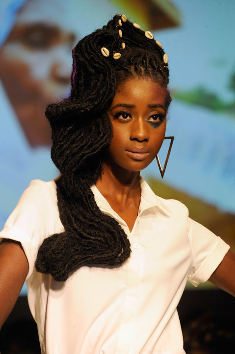 Natural Hair Inspiration From Texture On The Runway Essence