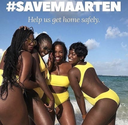 The #SaveMaarten Women Stranded After Hurricane Irma Are On Their Way Home