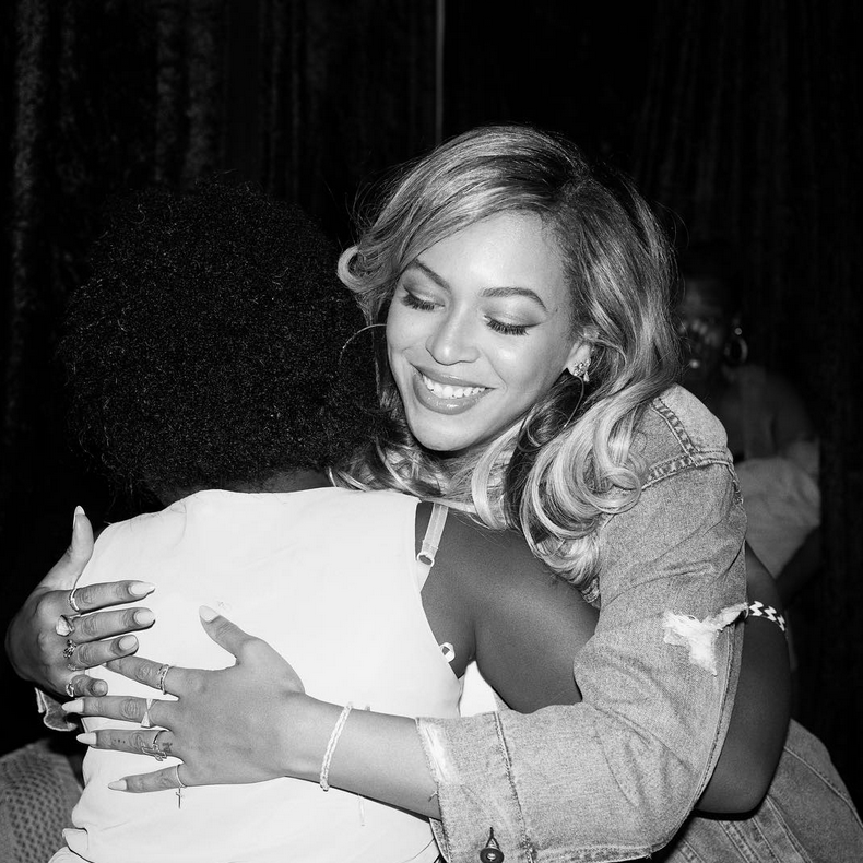 Beyoncé and Her Mom Eat at Their Favorite Houston Spot After Serving Meals to Harvey Victims All Day