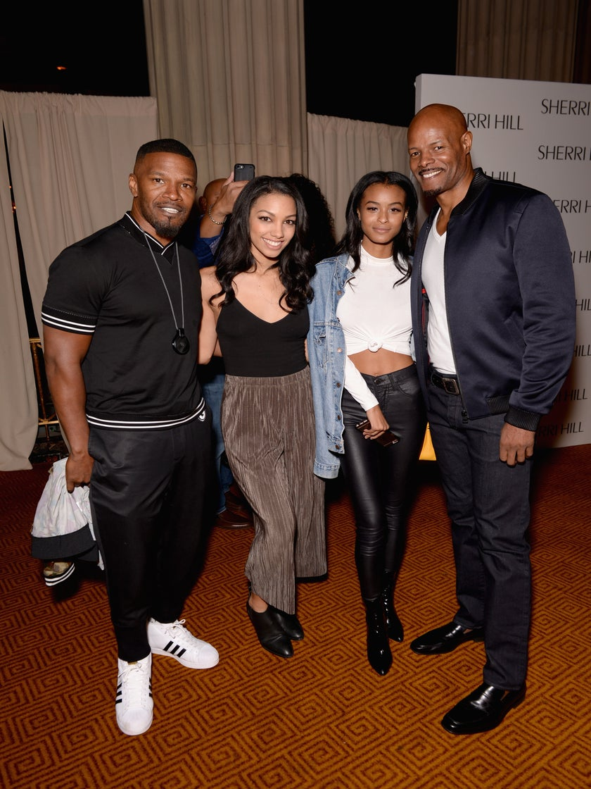 Jamie Foxx And Keenan Ivory Wayans' Daughters Hit The Runway At New York Fashion Week