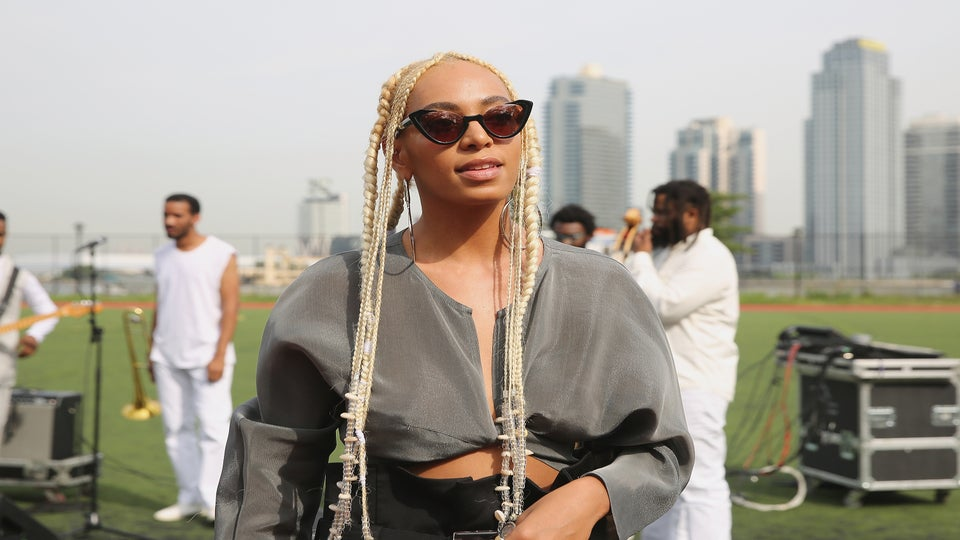 Solange Is A Blondie Now and Looks Fabulous, Obvs